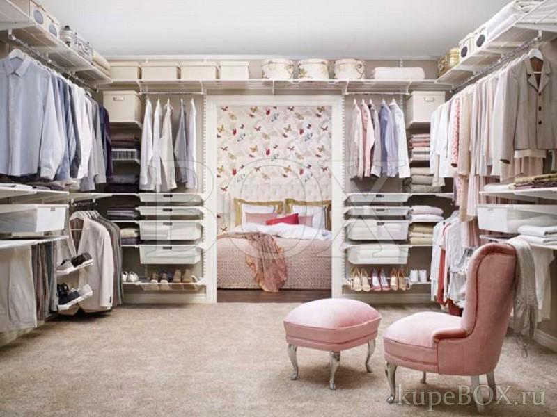 Elfa в гардеробной комнате фотогалереЯ гардеробные elfa.