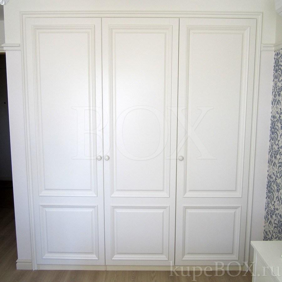 Шкаф распашной белый купить - идеи для дома.