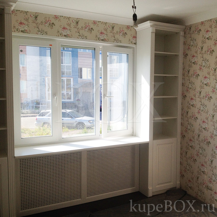 Шкафы у окна - экономим пространство идеи в дом pinterest ro.