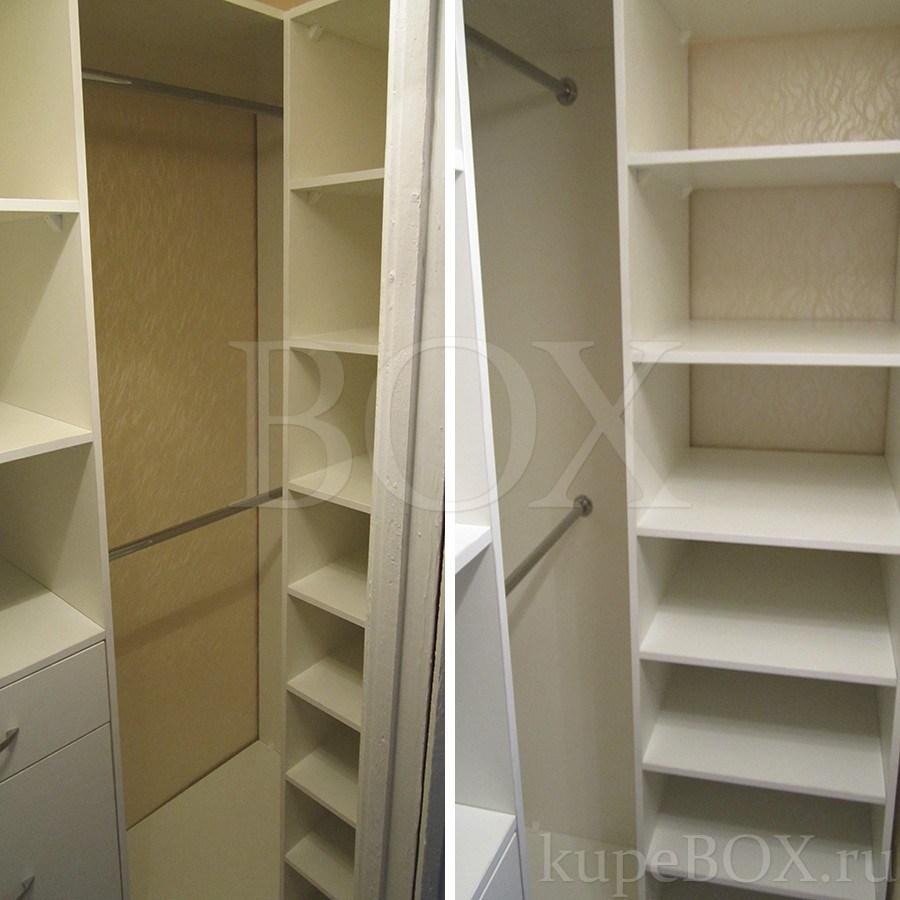 гардеробная комната фото маленькая комната